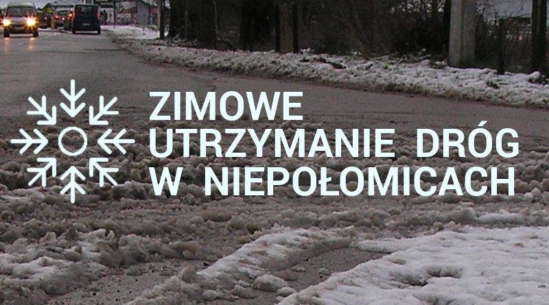 Zimowe utrzymanie dróg Niepołomice