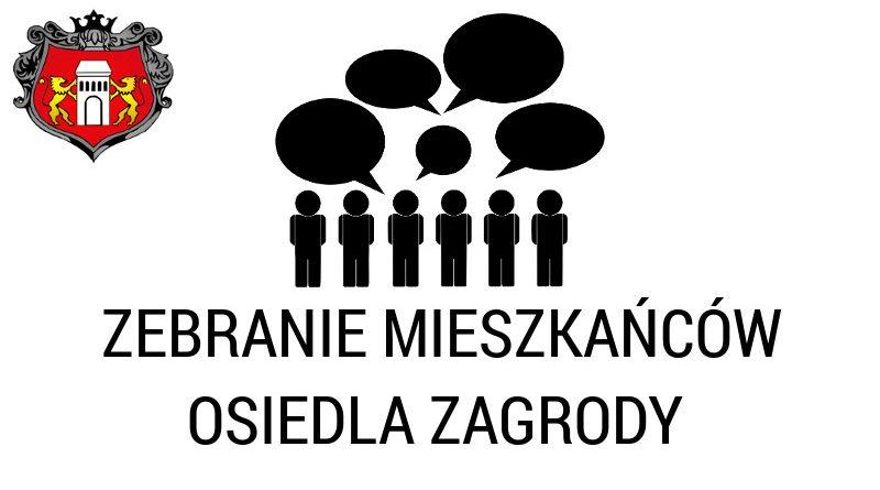 Zebranie mieszkańców Osiedla Zagrody w Niepołomicach