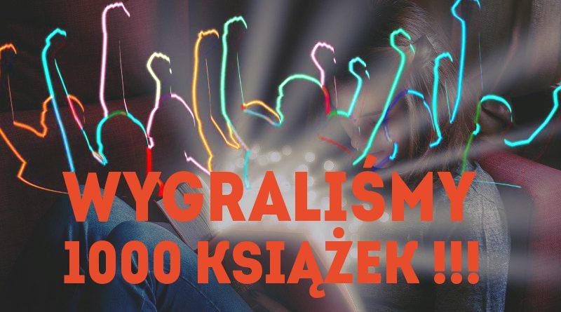 Wygraliśmy 1000 książek w Konkursie Empik.com,