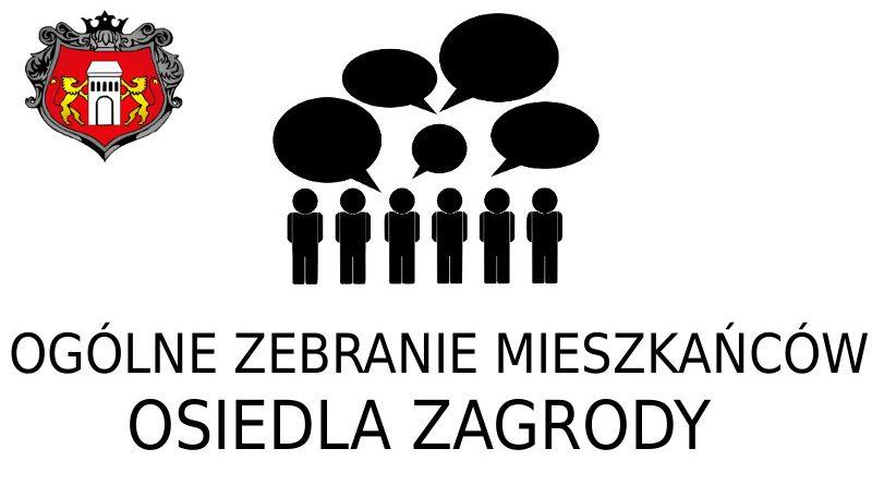 Ogólne Zebranie Mieszkańców Osiedla Zagrody w Niepołomicach