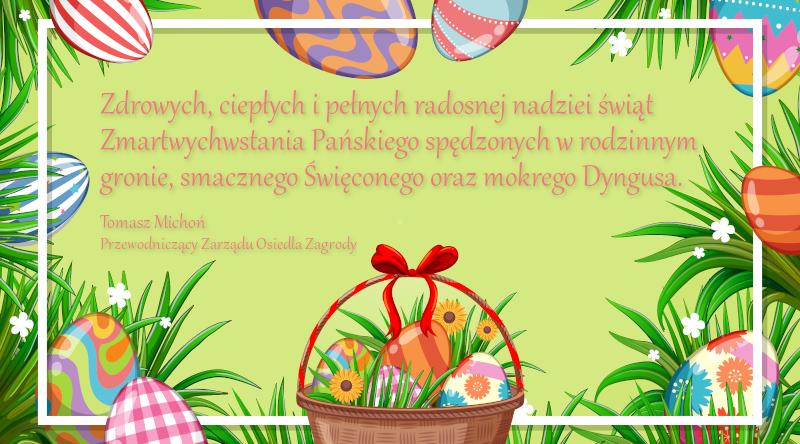 Życzenia Wielkanocne 2021, Niepołomice, Zagrody
