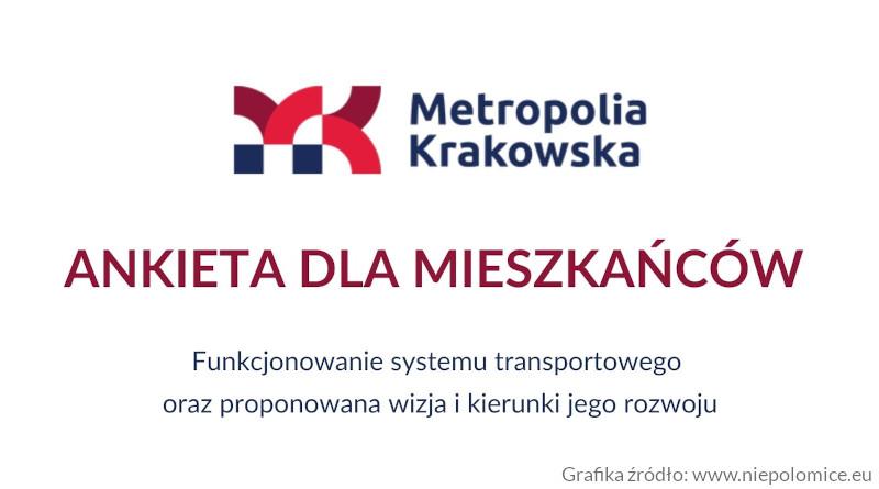 Plan Zrównoważonej Mobilności Metropolii Krakowskiej - Niepołomice